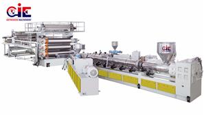 HDPE LDPE LLDPE Sheet Extrusion Machinery