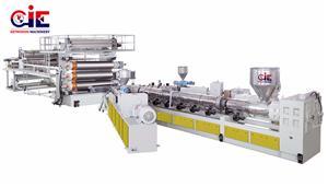 HDPE LDPE LLDPE Sheet Extrusion Machine