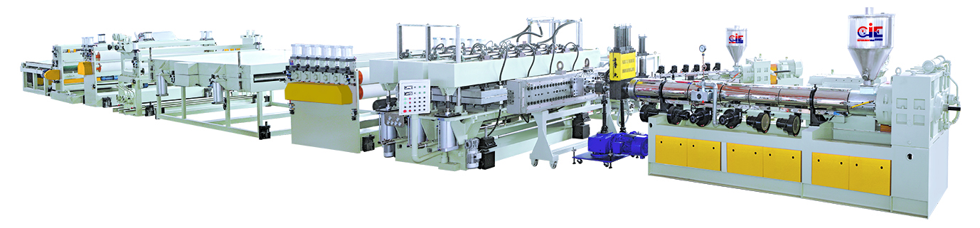 Roofing Board Extrusion Making Machine