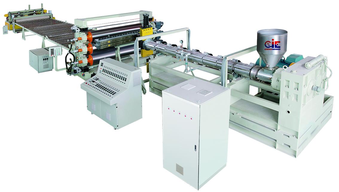 Board Plastic Extruder Machinery