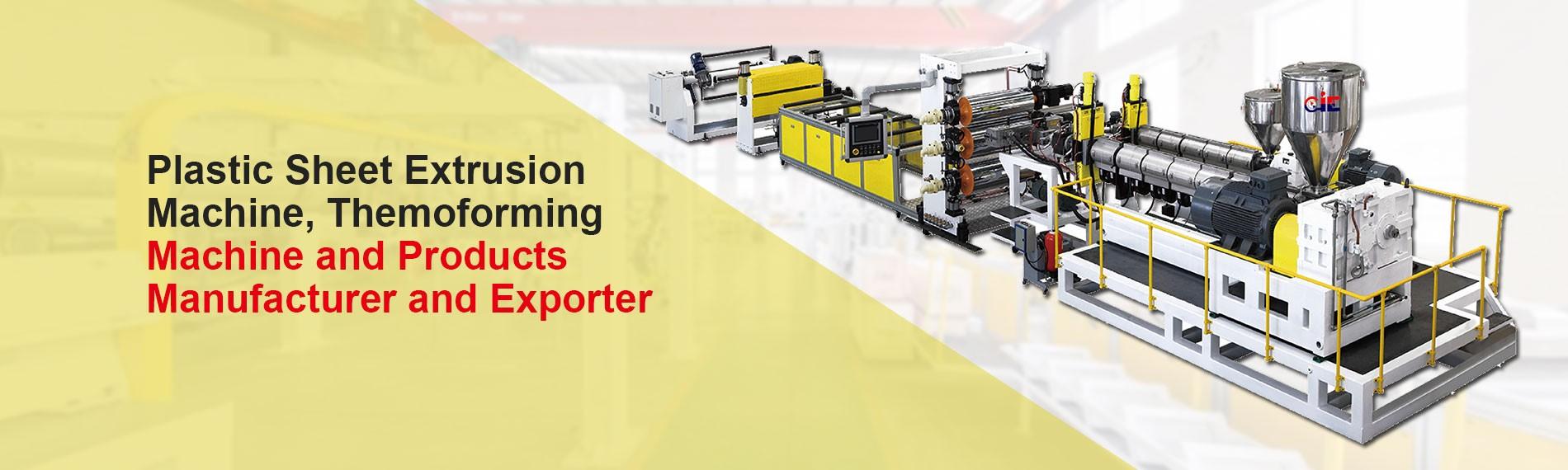 Plastic Board Extrusion Machine