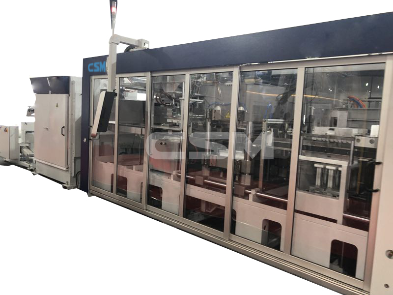 Automatic plastic Thermoforming Machinery