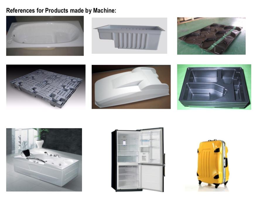 plastic vaccum forming machine