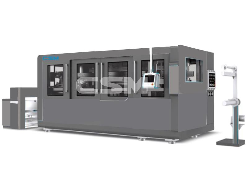 Plastic Thermoforming Machine of cup