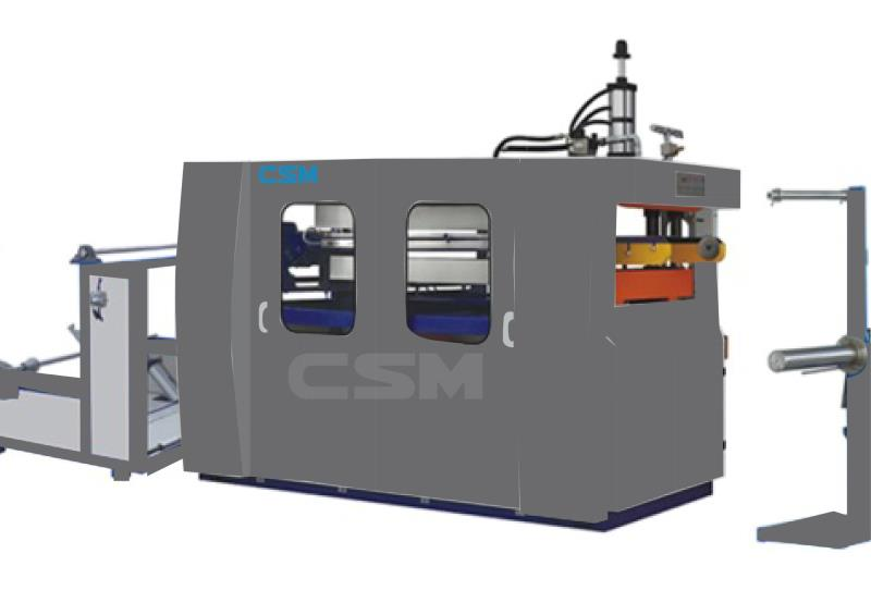 Cup Thermoforming and Stacking Machine