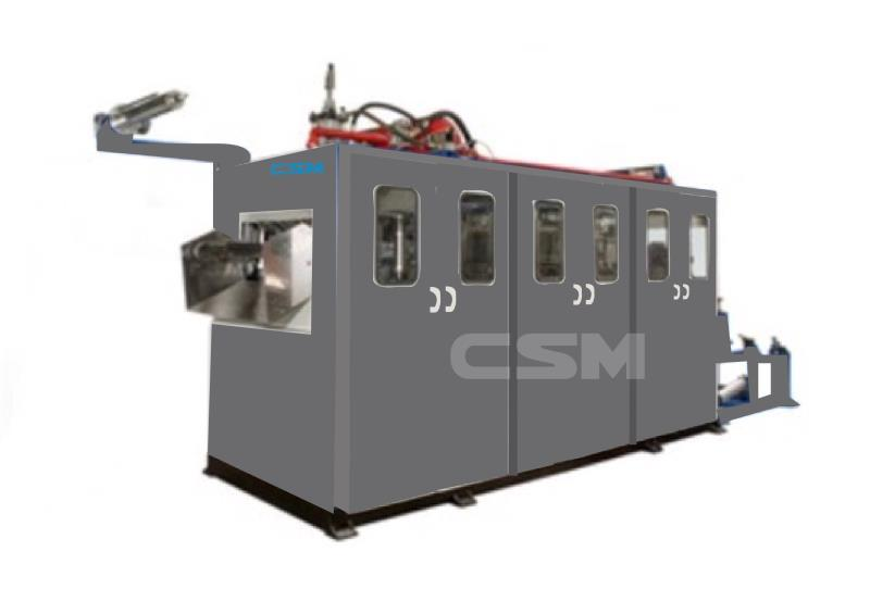 Extrusion Plastic Thermoforming Machine of Cup
