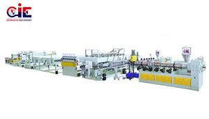 Plastic PC PP Hollow Roofing Board Extrusion Making Machine