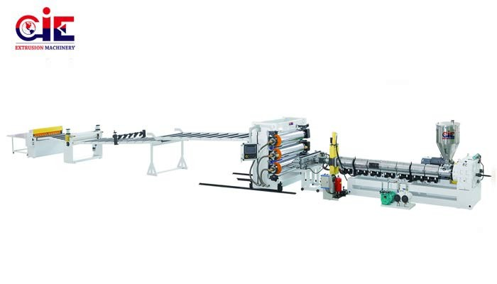 ABS Plastic Solid Board Sheet Extruder Machine