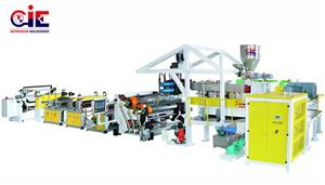 PET Sheet Extruder Machine