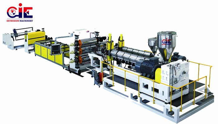 PP PS HIPS Plastic Sheet Extrusion Machine
