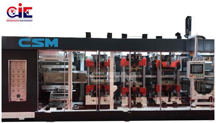 Plastic Thermoforming Line