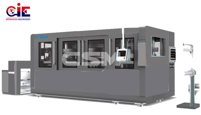 Plastic Thermoforming Cup Machine