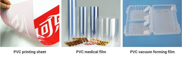 blister PVC sheet