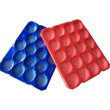 thermoformed PP packing tray