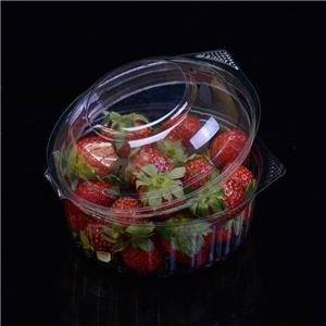 PET take away vegetable box plastic Fruit box