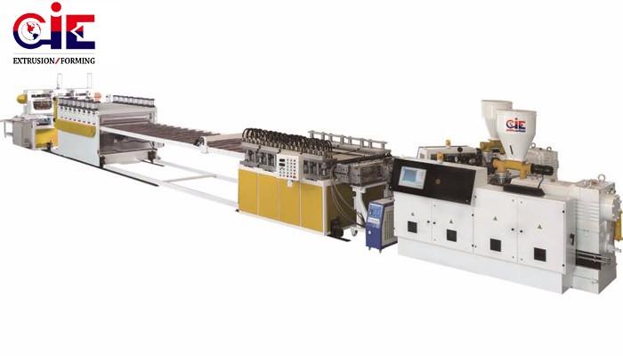 PVC Foam Sheet Extruder