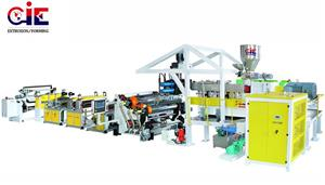 PET Sheet Extruder Machine