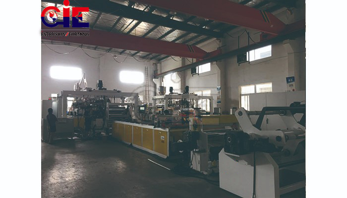 Sheet production machine