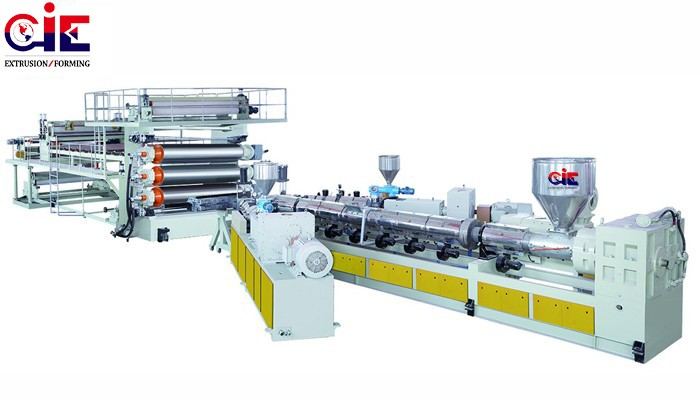 PE Plastic Geomembrane Film Extruder Manufacturers, PE Plastic Geomembrane Film Extruder Factory, Supply PE Plastic Geomembrane Film Extruder
