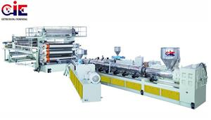 PE Water-Drainage Sheet Extrusion Line