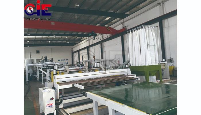 Single Screw PMMA Plastic Sheet Extrusion Machinery