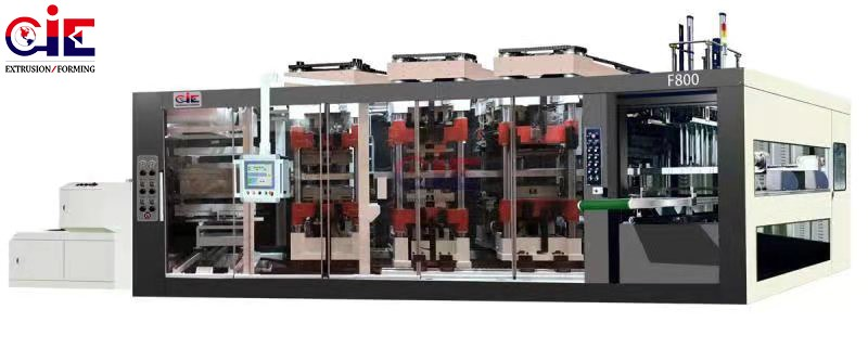 CIE-F800 Plastic Thermoforming Line Manufacturers, CIE-F800 Plastic Thermoforming Line Factory, Supply CIE-F800 Plastic Thermoforming Line