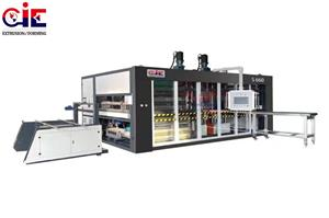 Thermoforming And Stacking Machine