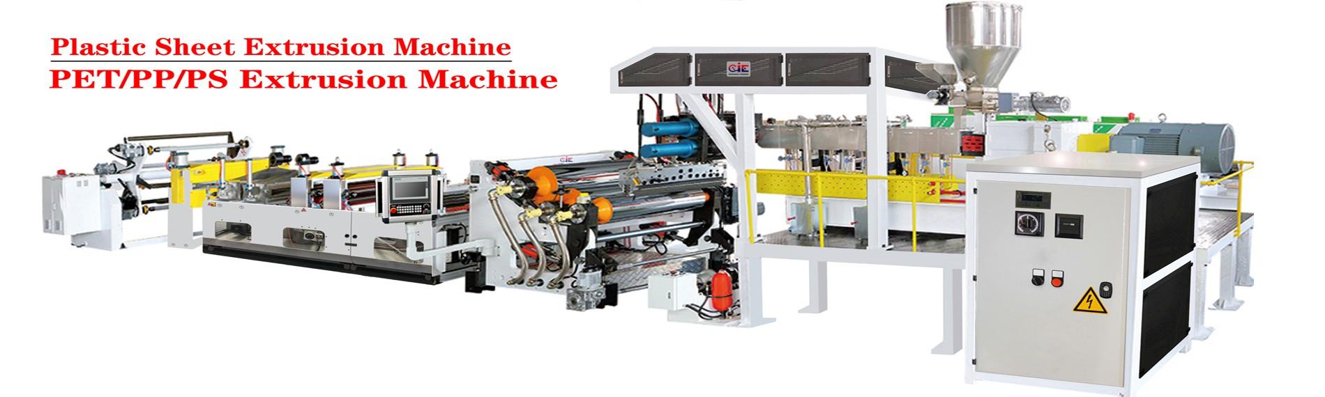 Plastic Film/Sheet Extrusion Machine
