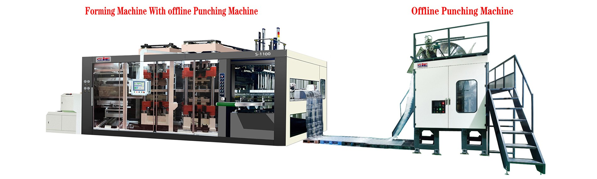 CIE-S1100 3-station Thermoforming