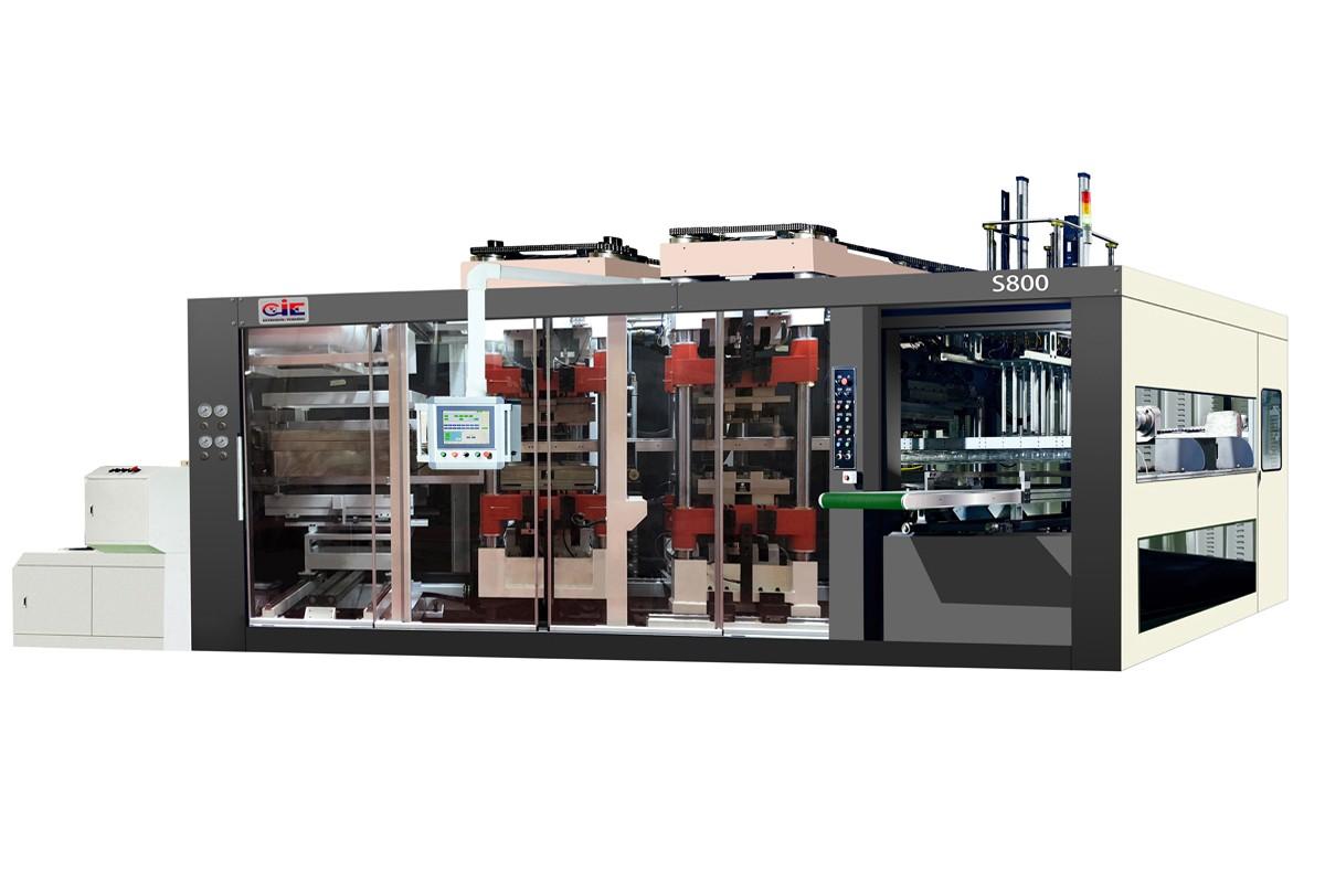 PET/PP/PCV/PLA Plastic Forming Machine