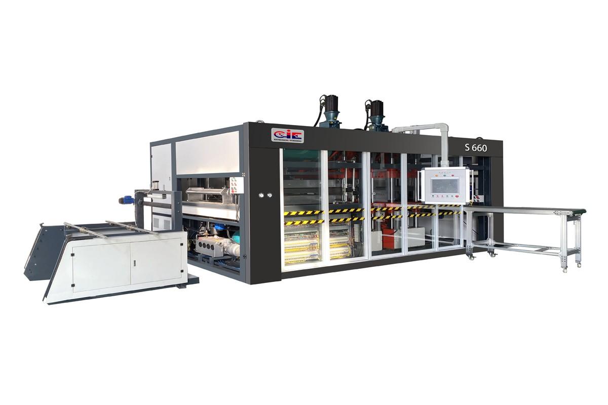 CIE-660 Plastic Vaccum Forming Machine Manufacturers, CIE-660 Plastic Vaccum Forming Machine Factory, Supply CIE-660 Plastic Vaccum Forming Machine