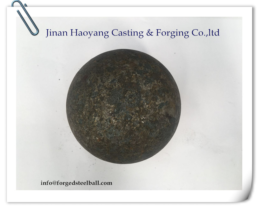 Hot rolling grinding balls