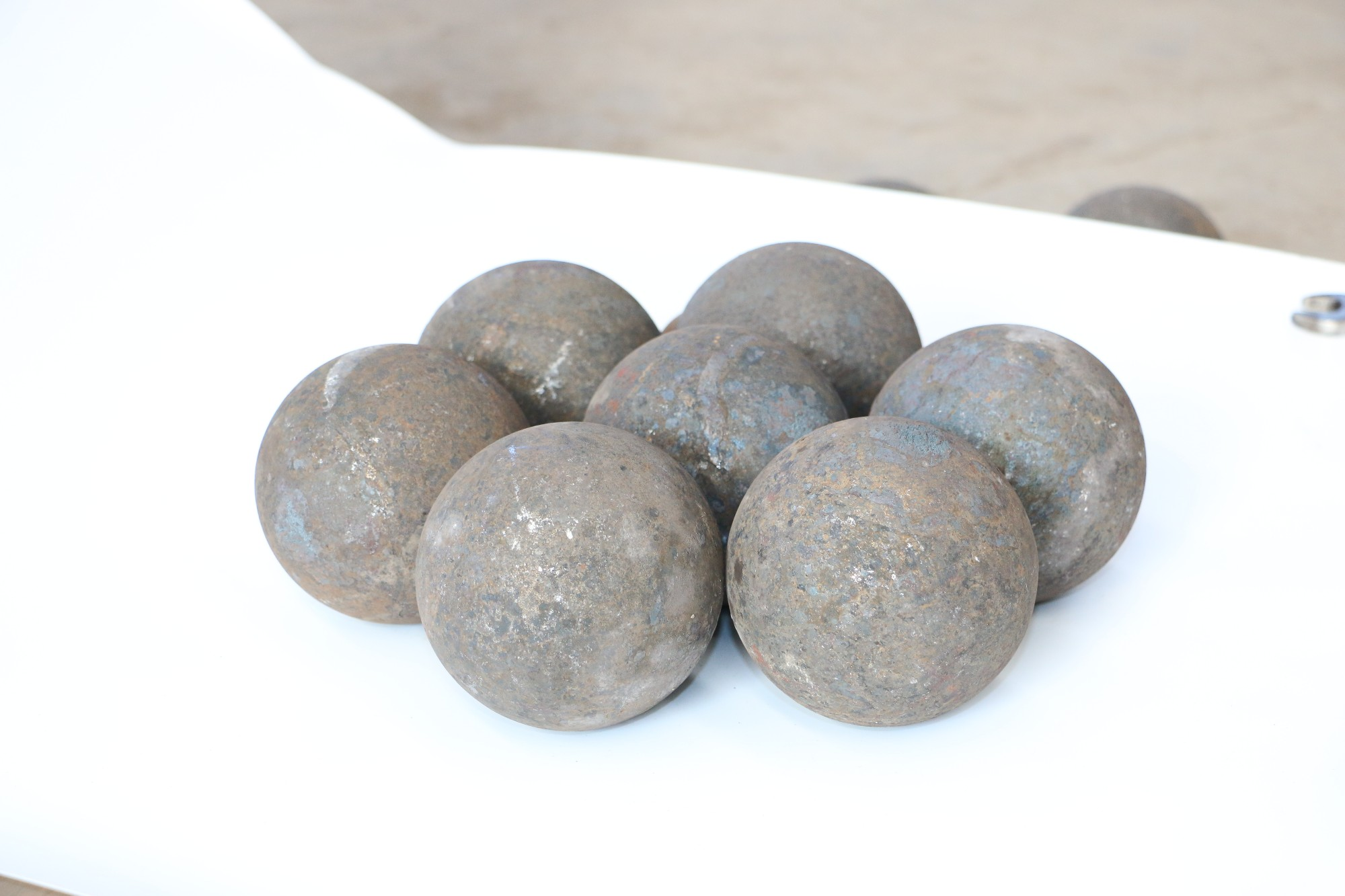 Copper And Gold Mining High Hardness Good Wear Resistance Ball Mill Steel Balls