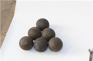 Hot Rolling B2 Material SAG Mill Grinding Balls For Cement Plant