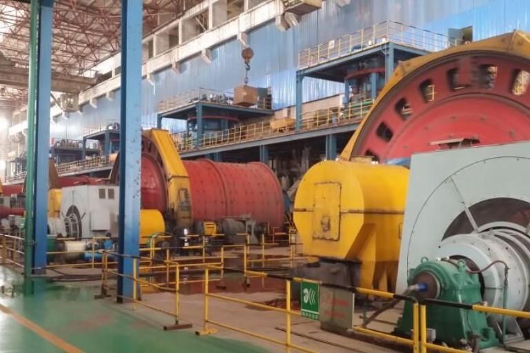 Peru Mining SAG Mill