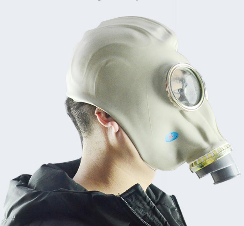 실리카 젤 가스 마스크