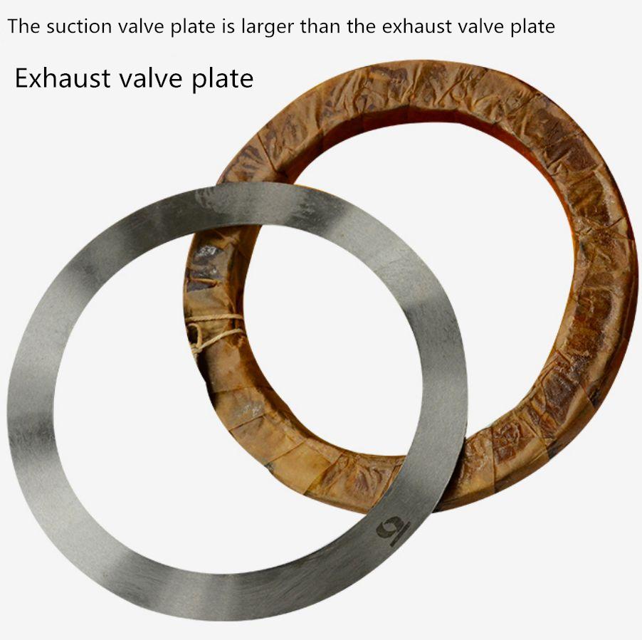 Suction valve flake