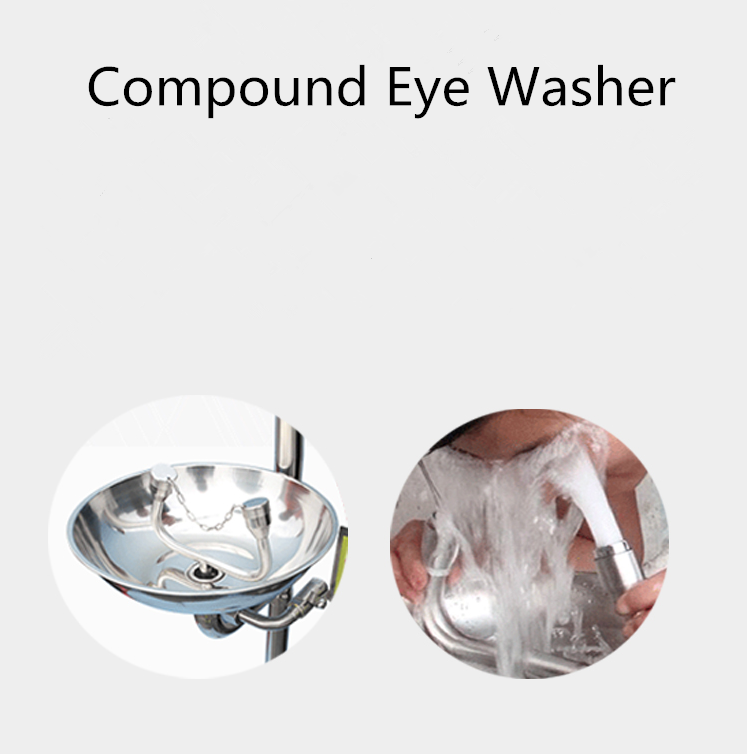 Compound eye washer