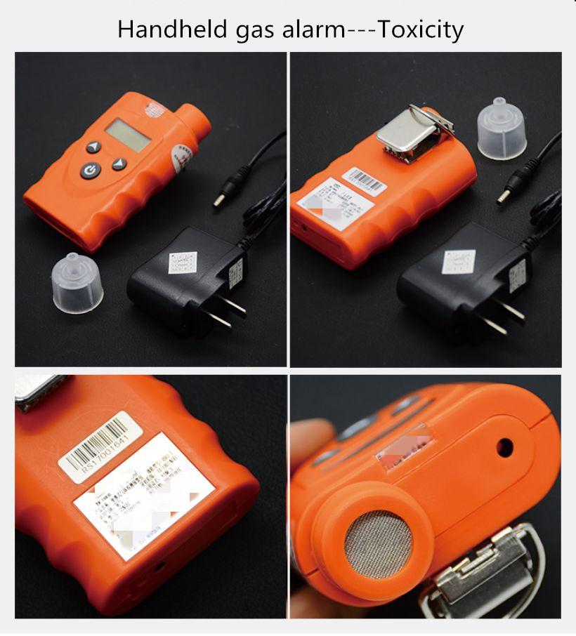 Handheld combustible gas alarm