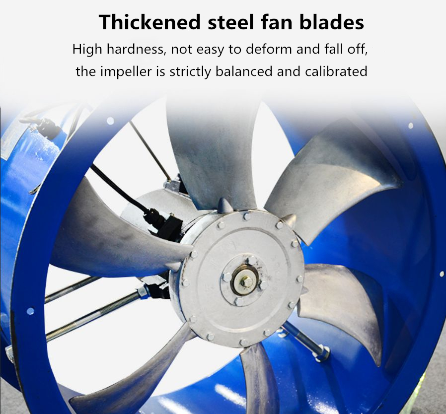 cold storage axial flow fan