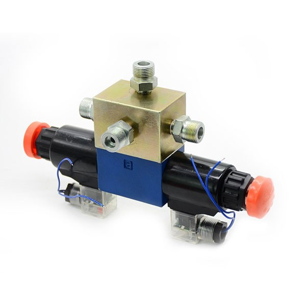 Three-position Four-way Valve For Screw Compressor