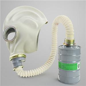 Filtered Silicone Gas Mask