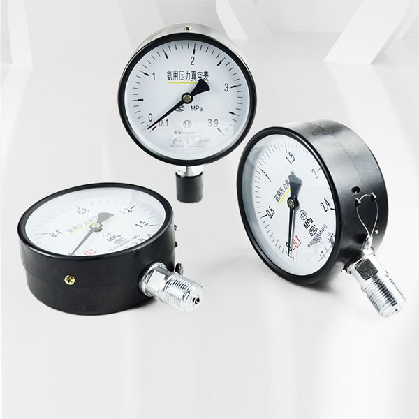 Medidor de presión de vacío de amoníaco