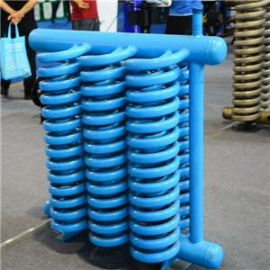China supply steel spiral tube evaporator