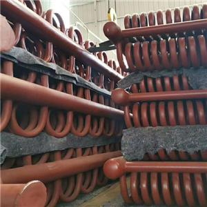 Painted or galvanized evaporator coil