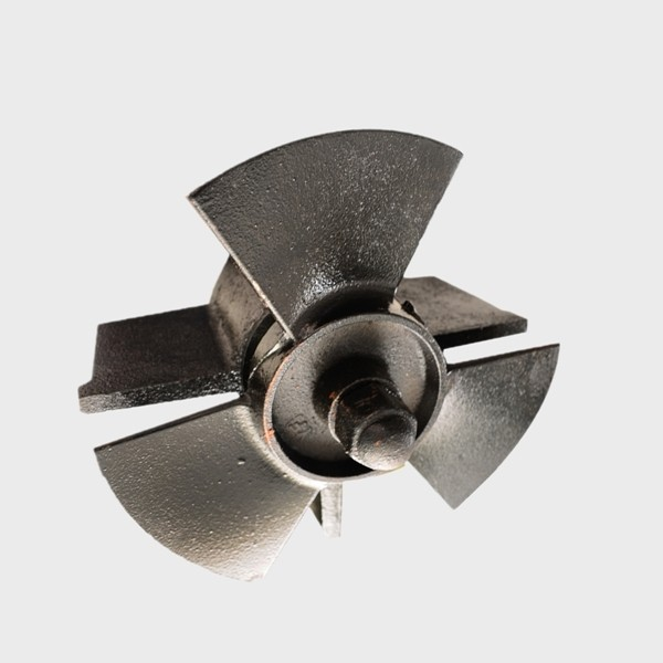 Refrigeration system 300mm metal mixer impeller