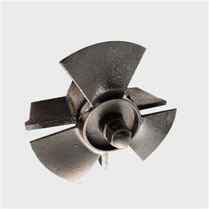 Refrigeration system 300mm metal mixer impeller