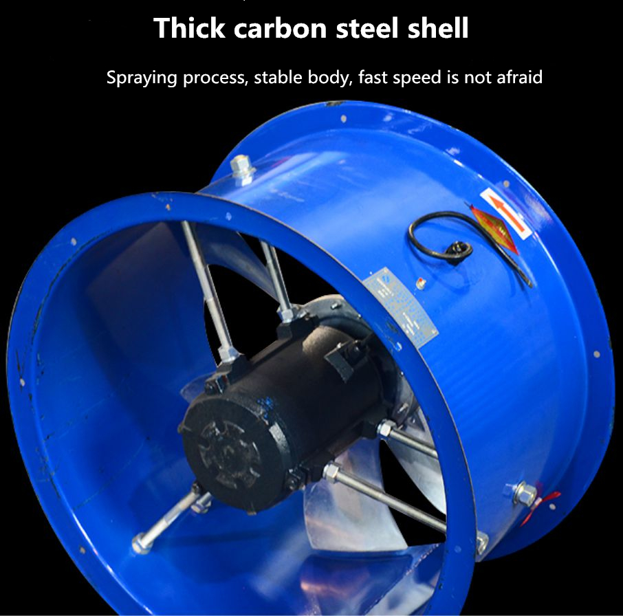high speed axial flow fans