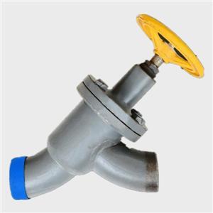 Herringbone stop valve