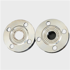 Ammonia pump flange plate